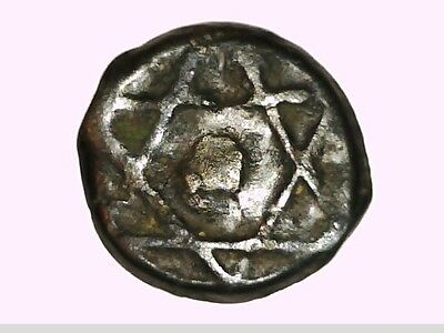 Africa Morocco 4 Falus King Solomon Star, Year 1273 Ah Or 1856 Ad Scarce Coin