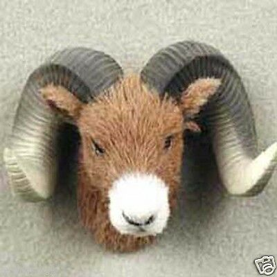 BIG HORN SHEEP FURLIKE ANIMAL MAGNETS! (Handcrafted & Hand painted). GIFTS? .