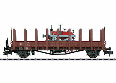 MÄRKLIN 58819 1 gauge Logging trailer Rmm the DRG loaded with Rails-Lanz#