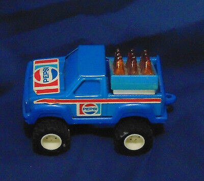 Vintage Buddy L 1987 Pepsi Truck Pull-Back Works Great