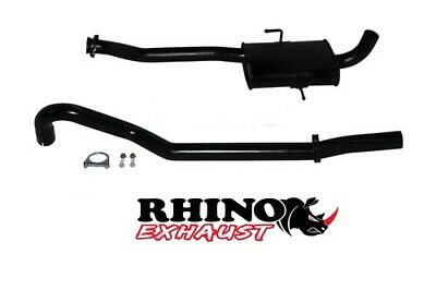 "Vs Holden Commodore V6 Sedan Solid Axle 2.5"" Cat Back Sport Exhaust System-Rhino"