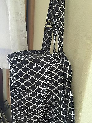 NEW  >NURSING COVER Up Like HOOTER hider* BREASTFEEDING Honeycomb B/W