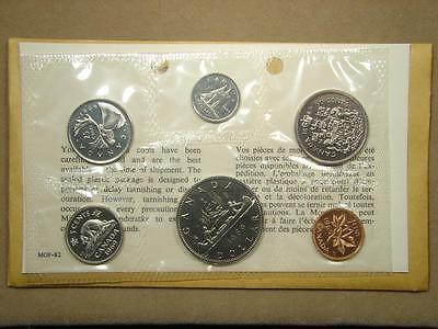 1969 Canada Proof Like 6 Coin Set in Original Cello and Envelope