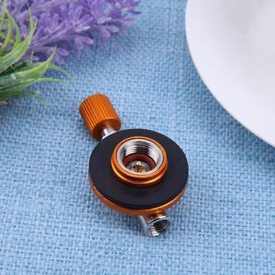 Outdoor Camping BBQ Burner Valve Cylinder Control Switch Stove Connector Adapter