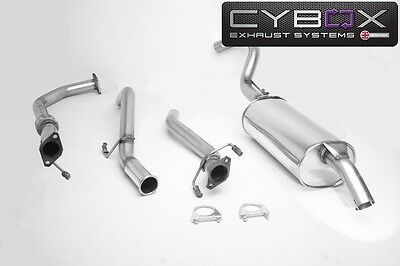Mitsubishi L200 (02 > 06) Stainless Exhaust System, Including Downpipe