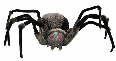 Morris Costumes New Multiple Giant With Led Eyes Light Up Red Spider. MR455183