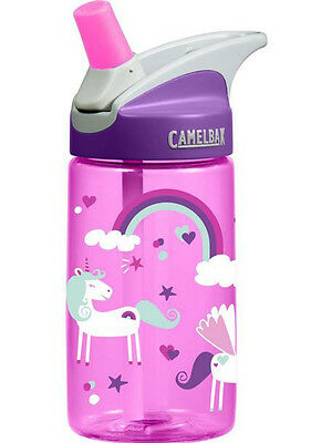 Camelbak EDDY Kids 400ml Bottle (Assorted Designs) No Spills Childproof Hiking