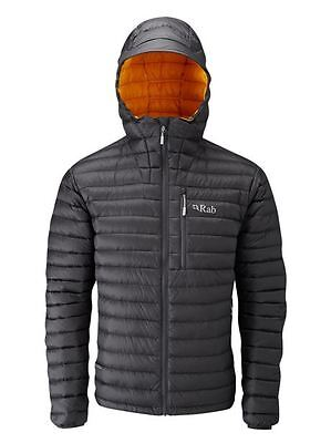 Rab Microlight Alpine Down Jacket Beluga/Squash