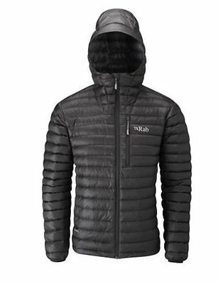Rab Microlight Alpine Down Jacket Black/Shark
