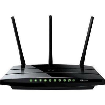 TP-Link ARCHER C7 AC1750 Dual Band Wireless Gigabit Router up to 1.75Gbps, 2.4/5