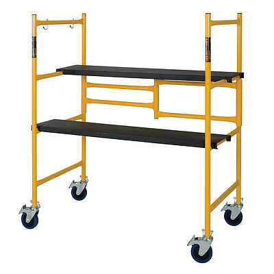 Metaltech 4' Standard Portable Drywall/Painting Scaffold - 500 lb. / 225 kg Cap.