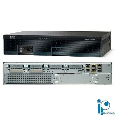CISCO2911/K9 - NEW Cisco 2911 Integrated Services Router