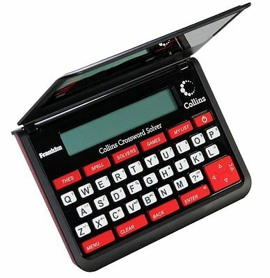 Collins CWM-109 Crossword Solver With Built In Thesaurus And Spell Checker
