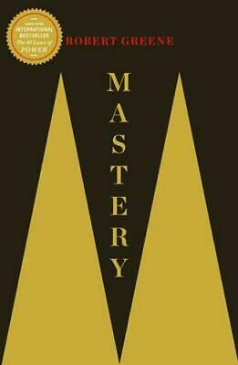 NEW Mastery By Robert Greene Paperback Free Shipping