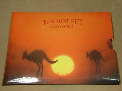 1989 Australia Uncirculated Mint Coin Set