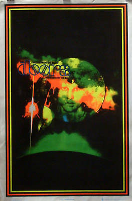 The Doors 23x35 Blacklight Poster Jim Morrison