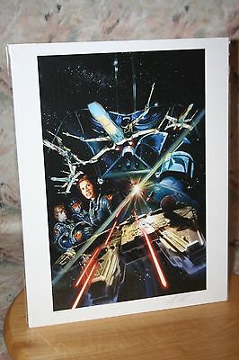 Star Wars Comic Book Issue #2 Paper Giclee Print Signed Ltd Ed Coa Alex Ross New