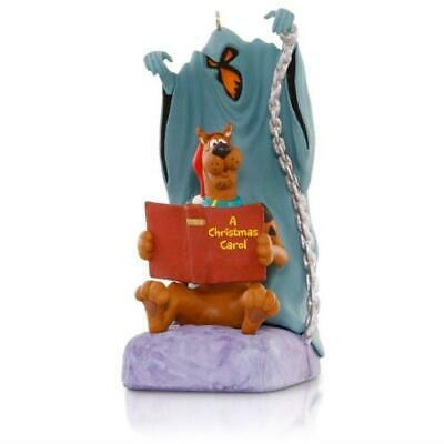"2015 Hallmark ""A CHRISTMAS SCARE-OL"" Ornament - Scooby-Doo - Ghost of Christmas"
