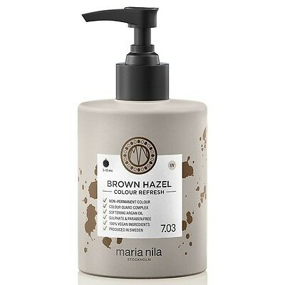 Maria Nila Colour Refresh Brown Hazel 7.03 300ml