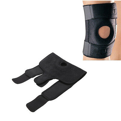 1pcs Magnetic Self Heating Therapy Knee Pad Support Brace Protector Strap Black