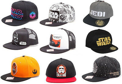 STAR WARS: Adult Snapback / Trucker / Baseball Cap New Official Disney/Lucasfilm