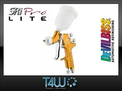DEVILBISS Gravity feed Spray Gun SRi Pro Lite mini Trans-Tech / TE5 air cap