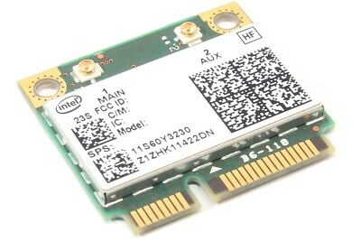 Intel Centrino Advanced-N6200 622ANHMW Mini-PCIe WLAN Notebook Card DELL 02GGYM