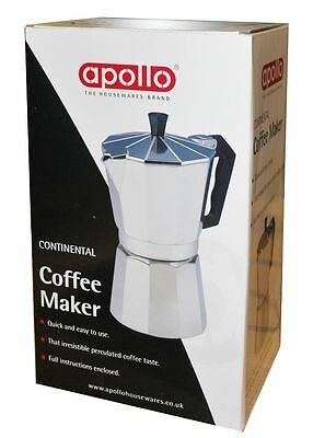 New 6 Cup Coffee Maker Continental cafeteria for kitchen ware 350ml