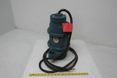 Burks 10092-4U04A-001 3/4 HP 460V 3PH Submersible Pump W/Approx. 10' Cable