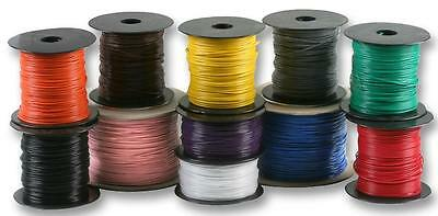 UL1007-9-1000 Wire Hook-up Solid 22 GAUGE GREY 1000 Feet Spool-Made in USA