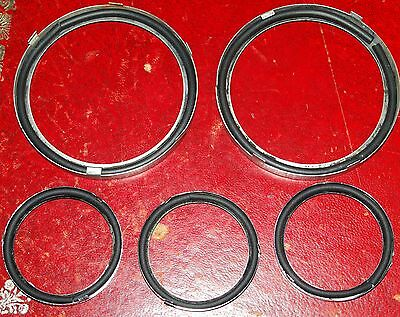 MGB & MGBGT glass to bezel instrument seals for the rubber bumper cars