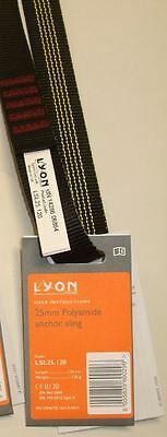 Lyon Slings - 25mm Polyamide Anchor Sling 30kn Climbing, Caving, Rescue, Rigging