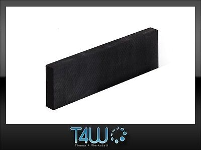 T4W Foam manual hand sanding block durable effective black (extra hard) / long