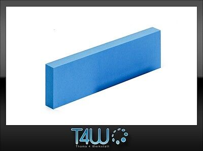 T4W Foam manual hand sanding block durable effective blue (hard) / long