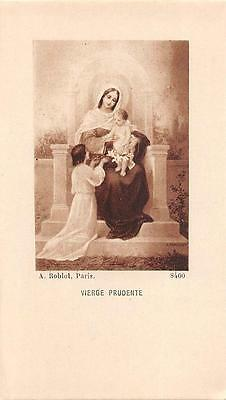 """OLD nice  rare Holy cards from circa 1930""""H3831"""" vierge prudente"""