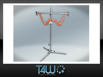 T4W Dry-blowing system for water-based paints automotive auto body stand