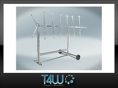 T4W Rotating Paint Rack paint stand rotative automotive refinish