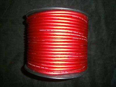 8 Gauge Wire 25 Ft Awg Cable Red Super Flexible Primary Stranded Power Ground