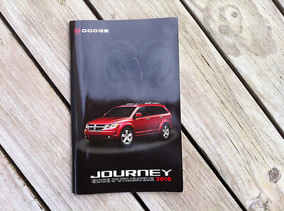 DODGE Journey 2010 - Owner's Manual - IN FRENCH - XF