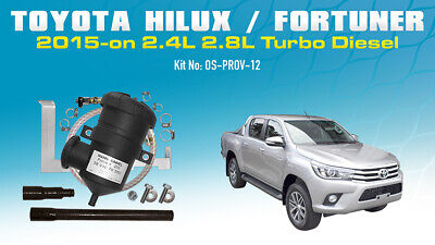 ProVent Catch Can Kit for Toyota Fortuner Hilux (2015 on) 2.4L 2.8L N80 IGD-FTV