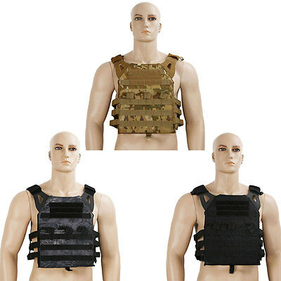 MILTEC Military SWAT Airsoft Tactical Molle Hunting Paintball Vest Plate Carrier