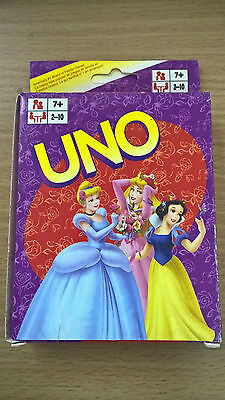 Disney Princess Uno Card Playing Card Kids Educational Toy Board Game Brand New