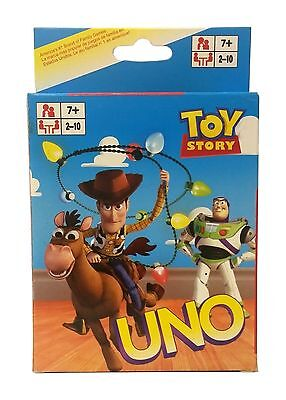 Toy Story Uno CARDS Playing Card Game CHILDRENS Educational Board Game Austock