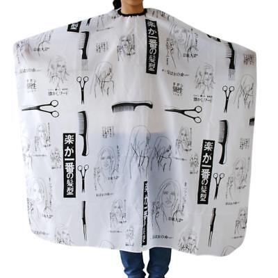 Salon Barber Hairdressing Hairdresser Hair Cut Styling Gown Adult Cloth Cape