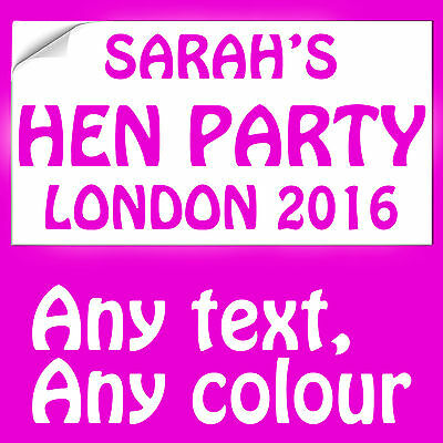 A4 /& Name Plates A5 Personalised Iron on Photo T-shirt Transfer for Hen Do