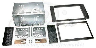 CT23FD01Ford Fusion 05 on Black Double Din Car Stereo Fitting Kit Facia