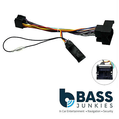 BMW 1 Series 2004-2013 Car Stereo Quadlock Wiring Harness Ignition Adapter Lead