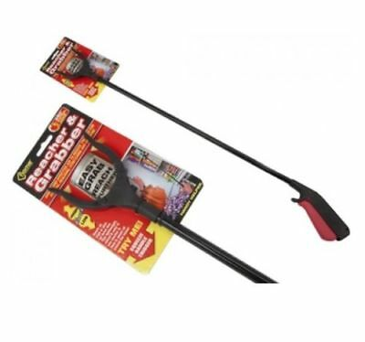 "Lightweight 31"" Pick Up Grabber Tool Litter Picker Arm Mobility Reacher Grabber"