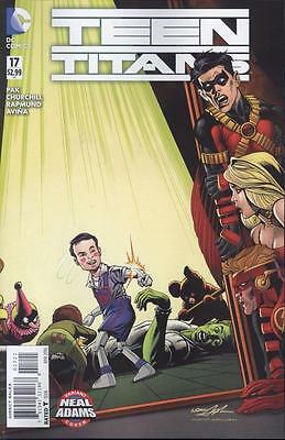Teen Titans #17 Neal Adams Var   NEW!!!