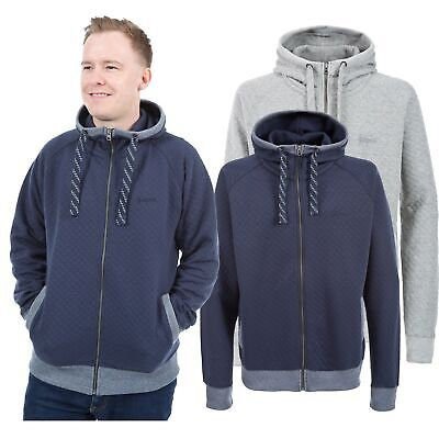 Trespass Cirrus Mens Warm Winter Full Zip Hoodie Thick Chunky Jumper with Hood